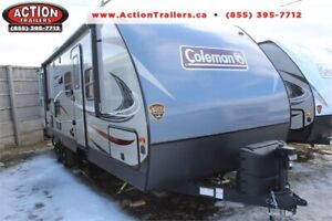 COLEMAN 2855 BUNK HOUSE! FAMILY SIZED TRAILER! LOWEST PRICE