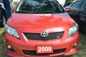 2009 Toyota Corolla GT-S Base 4-Speed AT