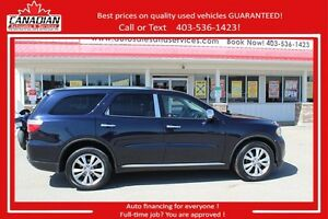 2011 Dodge Durango Crew Plusc FULLY LOADED WITH ALL OPTIONS
