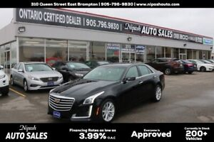 2017 Cadillac CTS Sedan !!! No Accidents  !! Backup Camera!!!!