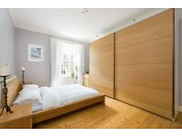 Huge IKEA custom oak wardrobe // RRP £800