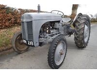 FERGUSON TE20 1952 VINTAGE TRACTOR ROAD RUN LOG BOOK SEE VIDEO CAN DELIVER no VAT