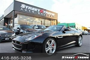 2014 Jaguar F-Type V8 S  NAVI, CLEAN CARPROOF, BACKUP CAMERA
