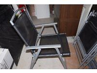 Folding Garden Chair RRP £39 Brand NEW