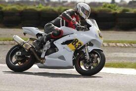 Sv650 minitwin race track bike suzuki production twin