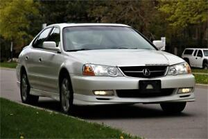 2002 Acura TL Type-S *MINT* LEATHER ROOF FOGS BODY KIT *BOSE SYS