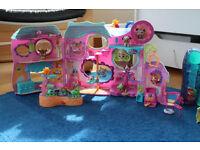 Littlest Pet Shop 6+ sets, 100+ figures, excellent condition.