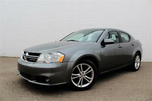 2012 DODGE AVENGER SXT | AUTO | CERTIFIED | ONLY $74 B/W |