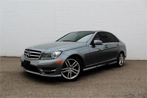 2014 MERCEDES C300 4MATIC| NAV | CERTIFIED | LOADED |AWD |LOW KM