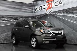 2011 ACURA  MDX SH-AWD *** 106,978 KM ** ACCIDENTÉ ** À RÉPARER