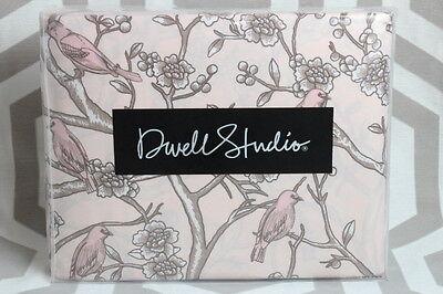 NIP Dwell Studio Dwellstudio Vintage Blossom Twin Duvet & Sham Set $149 Pink