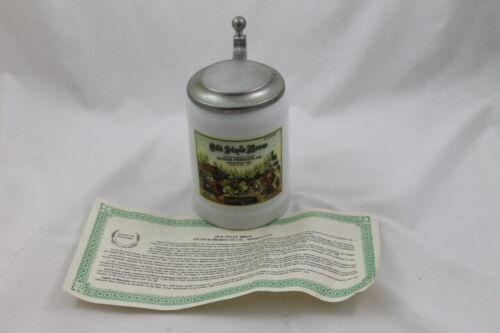 1989 Porcelain Stein Legacy of Wisconsin Lidded Old Style Brew Gutsch Ltd Ed