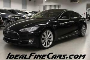 2013 Tesla Model S P 85 PANO/AIR SUSPENSION/CARBON FIBER INTERIO