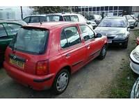 T Reg Nissan Micra Ally Limited Edition 5-door