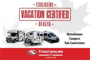 VACATION CERTIFIED! 2018 Windsport 31S Gas Motorhome