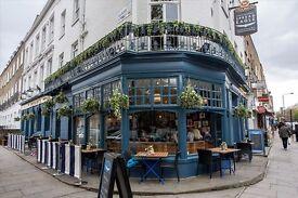 Chef (CDP & Sous), The Spread Eagle Pub, Camden, £8.50 p/hour