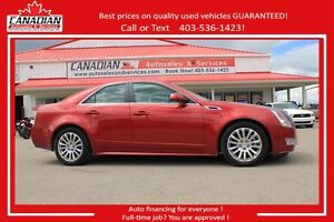 2012 Cadillac CTS Sedan Premium AWD FULLY LOADED LOW KMS