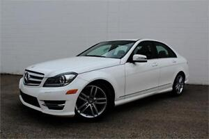 2013 MERCEDES C300 4MATIC| NAV | CERTIFIED | LOADED |AWD |LOW KM