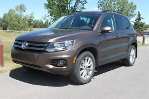 2015 Volkswagen Tiguan Highline Nav/ Panoramic Roof/ Leather