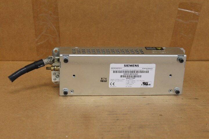 SIEMENS 6SE6400-4BC05-0AA0 MICROMASTER 4 BRAKING RESISTOR