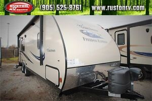 2015 Freedom Express 246RKS Rear Kitchen