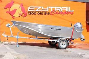 Horizon 390 Pathfinder Boat, 20HP HONDA Motor FREE REGO Capital Hill South Canberra Preview