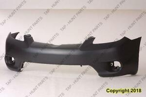 Bumper Front Primed With Fog Lamp Hole Without Spoiler Hole [Base/Xr/Xrs 2005-2006] [Base/Xr 2007-2008] Toyota Matrix