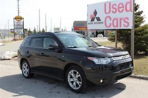 2014 Mitsubishi Outlander GT S-AWC *Leather *V6 *WARRANTY