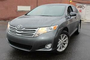 2012 Toyota Venza LTD,4X4,,4 CYL,CUIR,MAGS,CAMERA,PANORAMIC,A1.