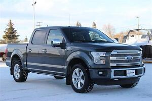 2015 Ford F-150 Platinum 4x4 *Heated Leather Seats-360 View*