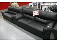 3 seater Leather sofa 6 months old
