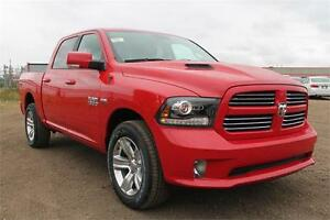 2017 RAM 1500 SPORT IN FLAME RED WOW 25% Off Ends Soon !!