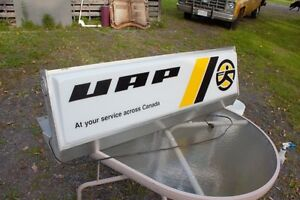 UAP Catalog Display Sign with Light