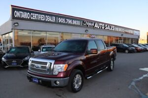2010 Ford F-150 LARIAT,4X4,LEATHER,NAVIGATION,CAMERA NO ACCIDENT
