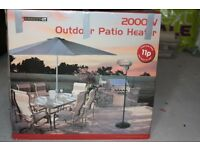 Freestanding Electric Patio Heater 2000W * 3 Power Settings £80