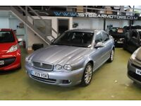 JAGUAR X TYPE 2.0D 2009, METALLIC BLUE , 118532 MILES , SERVICE HISTORY, 2 KEYS. MOT 01/19. OUTST
