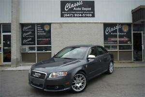 2006 AUDI S4 QUATTRO **LEATHER,SUNROOF,6 SPEED,RECARO SEATS**