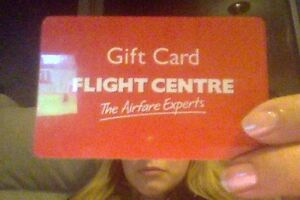 $1000 Flight Centre Gift Card Yarraville Maribyrnong Area Preview