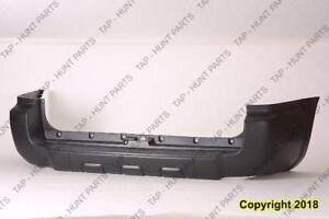 Bumper Rear Without Trailer Hitch Toyota 4Runner 2006-2009