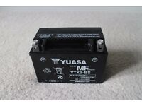 YUASA YTX9-BS - Motorbike Battery - NEAR NEW