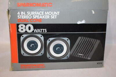 Vtg. Pair of NEW-Sparkomatic Dual Cone 4