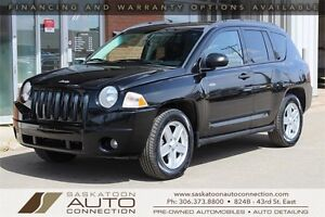 2008 Jeep Compass 4x4 ** HEATED SEATS ** MOONROOF ** LOW KM **