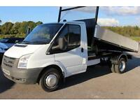 Ford Transit 2.4TDCi Duratorq 2008/08 (100PS ) 350M 1-Way TIPPER 3300mm 350 MWB