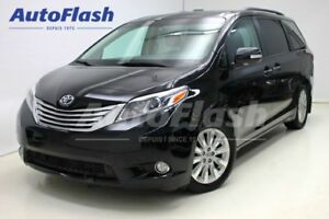 2015 Toyota Sienna Limited *GPS/Camera *Cuir/Leather *Toit-Pano-