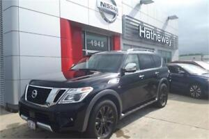 2017 Nissan Armada Platinum  7 passenger save up to 14,000$