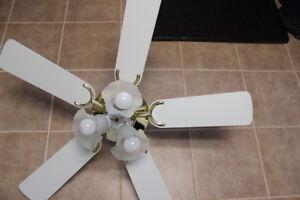 Fan/Light fixture-3speed