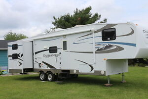 2011 DURANGO 296 BHDS 5TH WHEEL WITH BUNKS 2 SLIDES 2 BATHROOMS