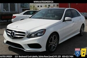 2014 MERCEDES E300 4MATIC NAVIGATION, CAMERA 360,TOIT PANORAMIC