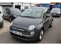 LHD 2015 Fiat 500 Lounge 1.2 Petrol 3 Door SPANISH REGISTERED