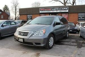 2009 Honda Odyssey LX, 8 PASSENGER, ONE Owner, NO ACCIDENTS